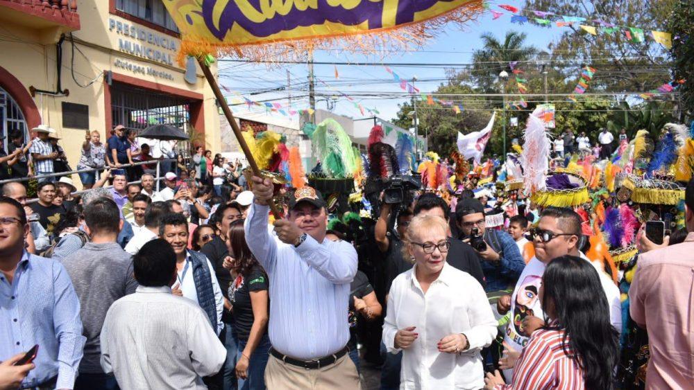 Convoca Rafael Reyes a hacer del Carnaval 2020 un evento familiar