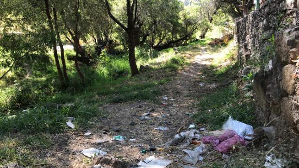 Contaminación de barrancas en Cuernavaca un serio problema de salud