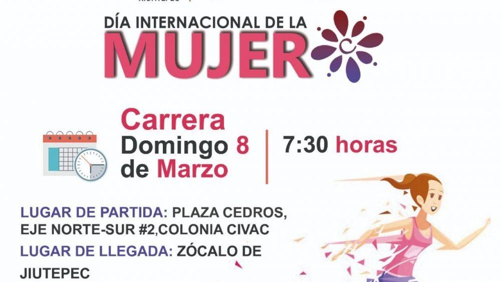 Invita DIF Jiutepec a conmemorar el Día Internacional de la Mujer