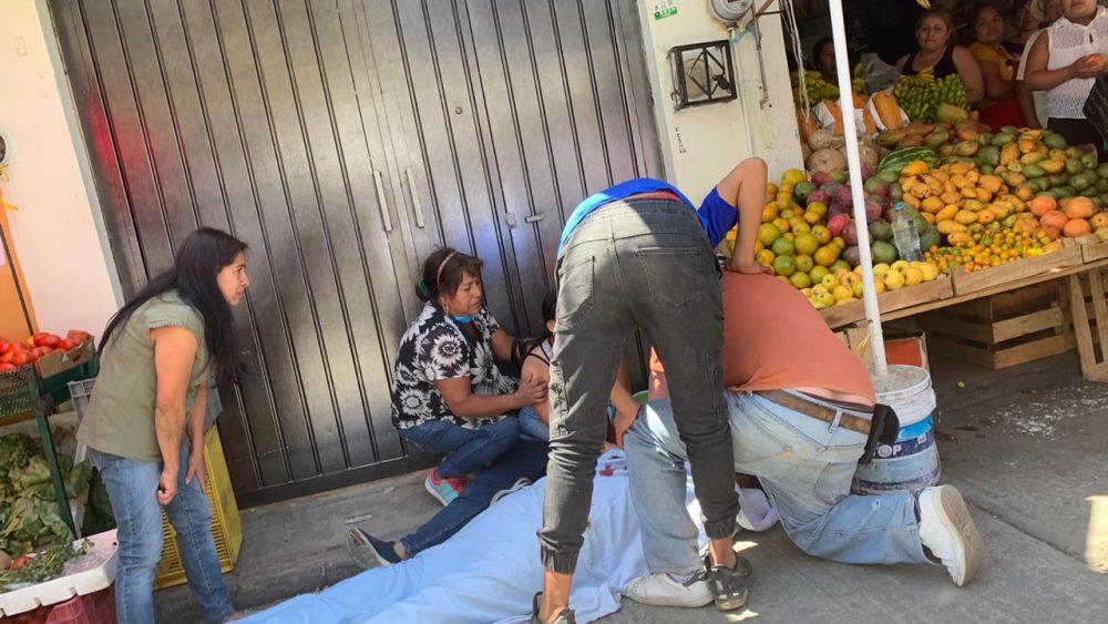 Asesinan a comerciante de frutas y verduras en su negocio de Jiutepec