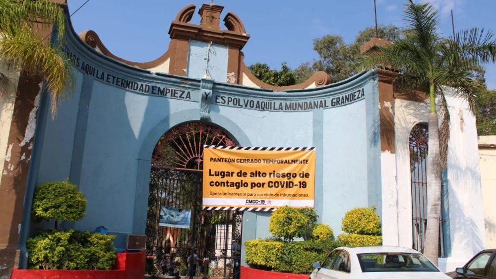 DENOMINA AYUNTAMIENTO A PANTEONES DE CUERNAVACA COMO ZONAS DE ALTO RIESGO DE CONTAGIO DE CORONAVIRUS